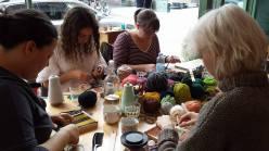 Weaving class/Tissage at La Societe Textile in Montreal