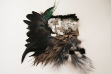 Animal world: fur, feather, fish skin, leather, collage and fabric manipulation